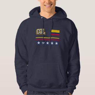Drapeau de la Colombie Veste À Capuche