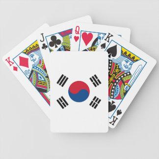 Drapeau de la Corée du Sud Jeu De Cartes
