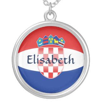 Drapeau de la Croatie + Collier nommé