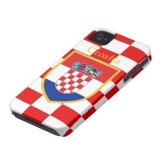 Drapeau de la Croatie Coque iPhone 4 Case-Mate