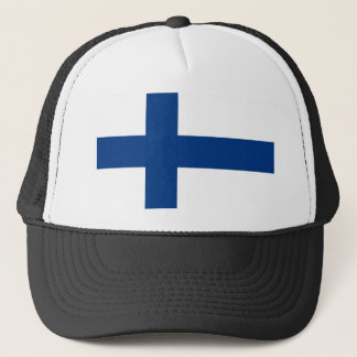 Drapeau de la Finlande Casquette