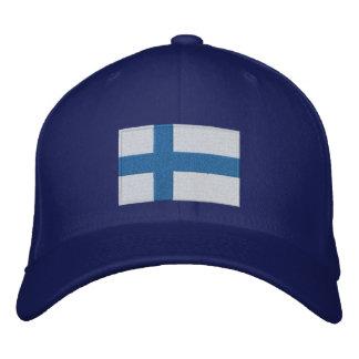 Drapeau de la Finlande Casquette Brodée