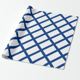 Drapeau de la Finlande (lippu de Suomen, flagga de Papier Cadeau