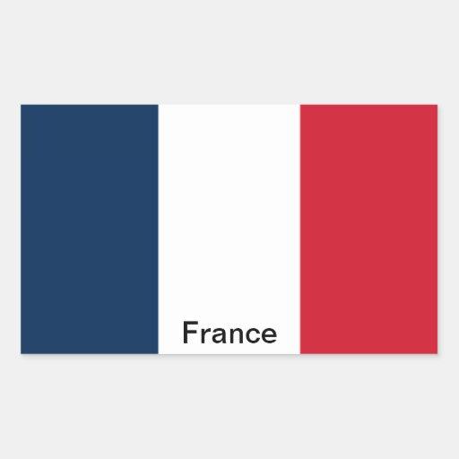Drapeau de la France Autocollants