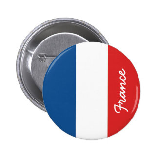 Drapeau de la France Badge