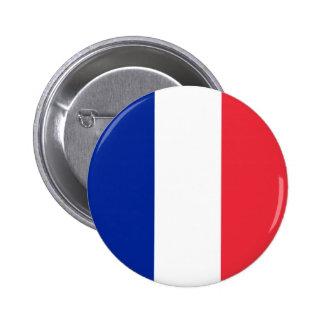Drapeau de la France Badge Rond 5 Cm
