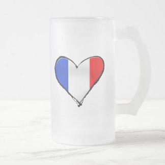 Drapeau de la France Je Taime de cadeau de la Fran Tasse