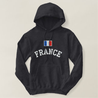 Drapeau de la France Sweatshirt Avec Capuche