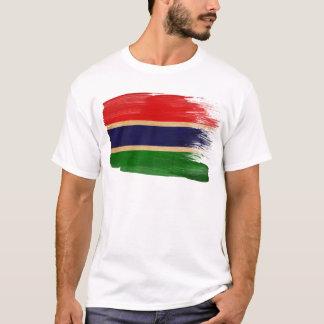 Drapeau de la Gambie T-shirt