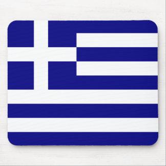 Drapeau de la Grèce Tapis De Souris