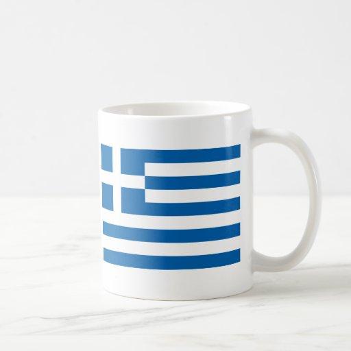 Drapeau de la Grèce Tasses