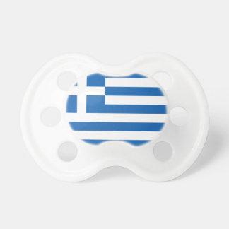 Drapeau de la Grèce Tétine Pour Bébé