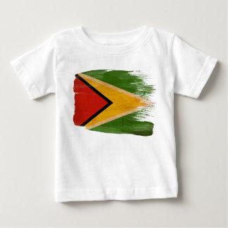 Drapeau de la Guyane T-shirt Pour Bébé