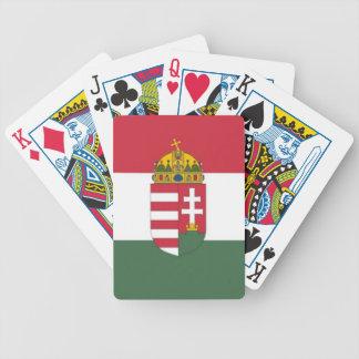 Drapeau de la Hongrie Jeu De Cartes