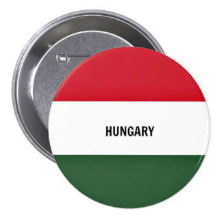 Drapeau de la Hongrie, marqué Pin's
