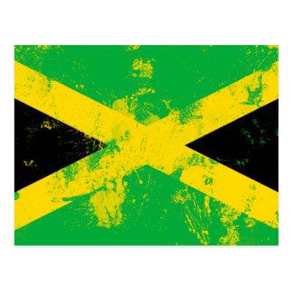 Drapeau de la Jamaïque Carte Postale