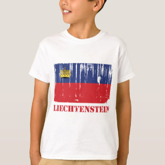 Drapeau de la Liechtenstein T-shirt