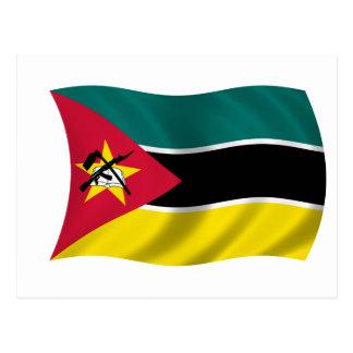Drapeau de la Mozambique Carte Postale