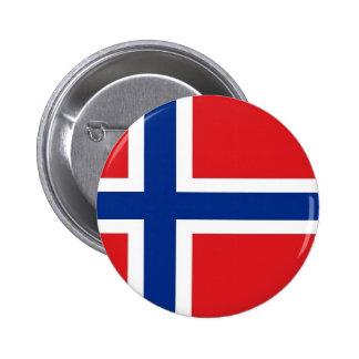 Drapeau de la Norvège Badges