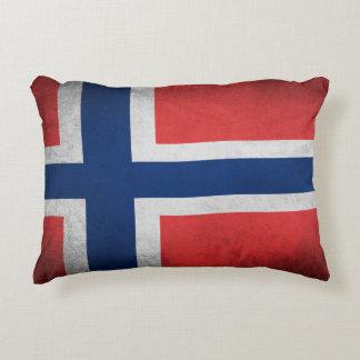 Drapeau de la Norvège - coussin