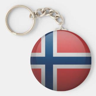 Drapeau de la Norvège Porte-clés