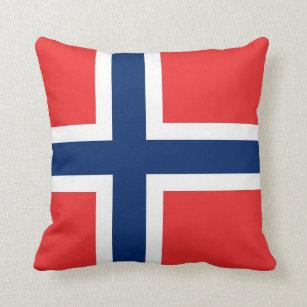 Drapeau de la Norvège sur le coussin de MoJo