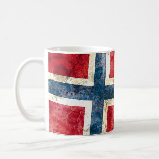 Drapeau de la Norvège Mugs À Café