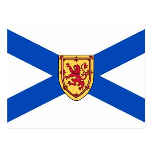 Drapeau de la Nouvelle-Écosse Cartes Postales | Zazzle