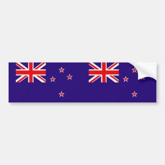 Drapeau de la Nouvelle Zélande Autocollant De Voiture