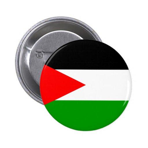 Drapeau de la Palestine Badges Avec Agrafe