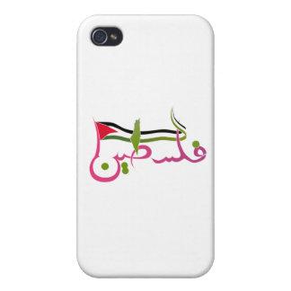Drapeau de la Palestine, écritures arabes de la iPhone 4 Case