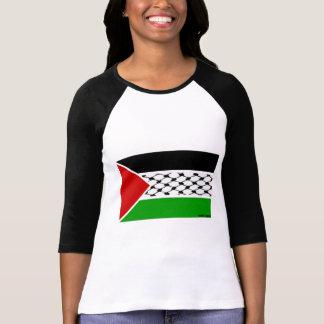 Drapeau de la Palestine Keffiyeh T-shirt