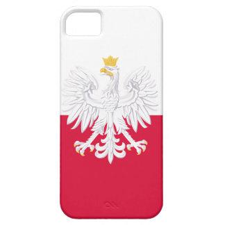 Drapeau de la Pologne Coques iPhone 5 Case-Mate