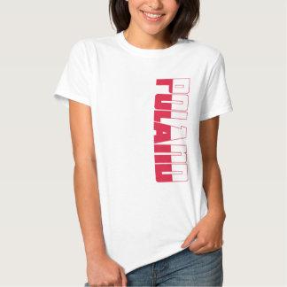 Drapeau de la Pologne T-shirt