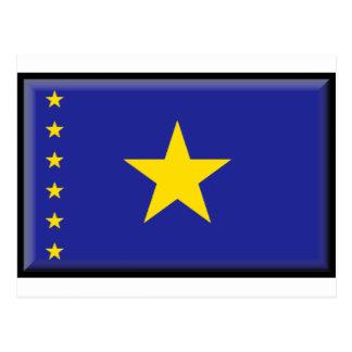 Drapeau de la République démocratique du Congo Carte Postale