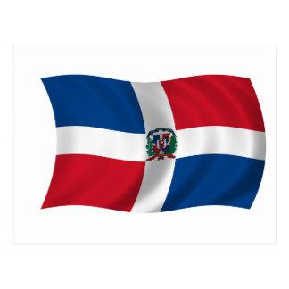 Drapeau de la République Dominicaine Cartes Postales