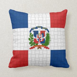 Drapeau de la République Dominicaine Oreiller