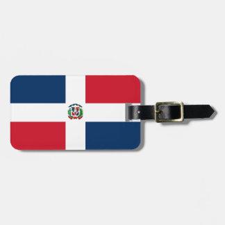 Drapeau de la République Dominicaine Étiquettes Pour Bagage