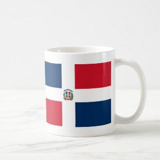 Drapeau de la République Dominicaine Mug Blanc
