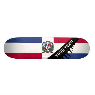 Drapeau de la République Dominicaine Plateaux De Skateboards Customisés