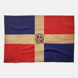 Drapeau de la République Dominicaine Serviettes Éponge