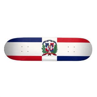 Drapeau de la République Dominicaine Skateboard 21,6 Cm