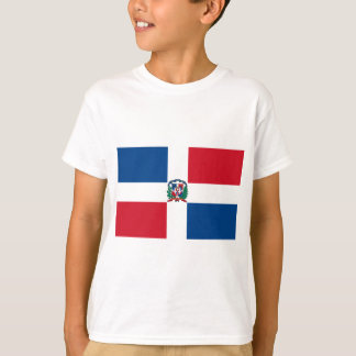 Drapeau de la République Dominicaine T-shirt