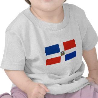 Drapeau de la République Dominicaine T-shirts