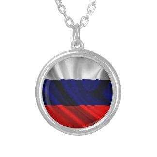 Drapeau de la Russie, drapeau russe Collier