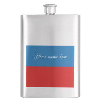 Drapeau de la Russie Flasque