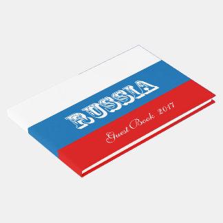 Drapeau de la Russie Livre D'or