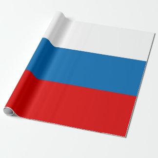 Drapeau de la Russie Papier Cadeau