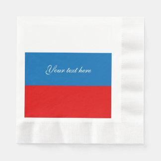 Drapeau de la Russie Serviettes Jetables