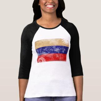 Drapeau de la Russie T-shirt